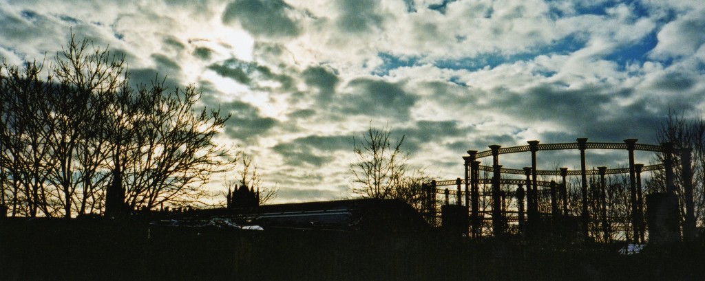 Industrial landscape, early 2000s. Photo: Stephen Emms