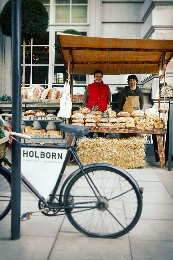 Fresh 'slow' produce every Sunday in Holborn