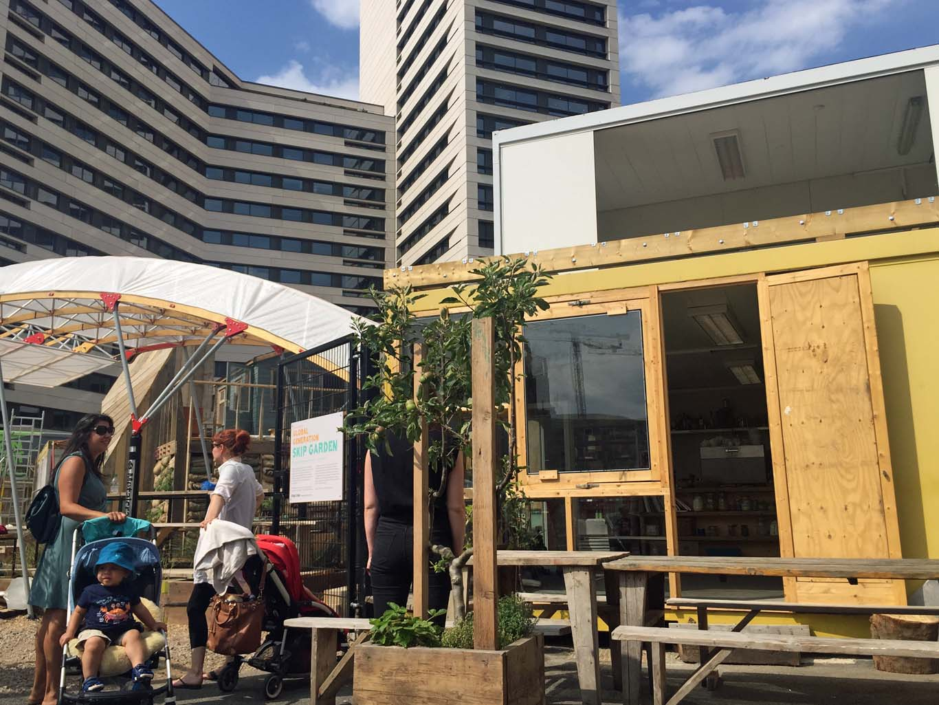 The new Skip Garden opens shortly. Photo: SE