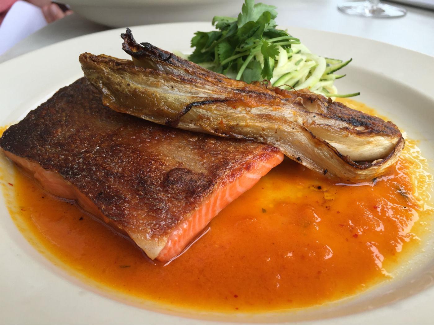 Rosy: the sea trout. Photo: SE