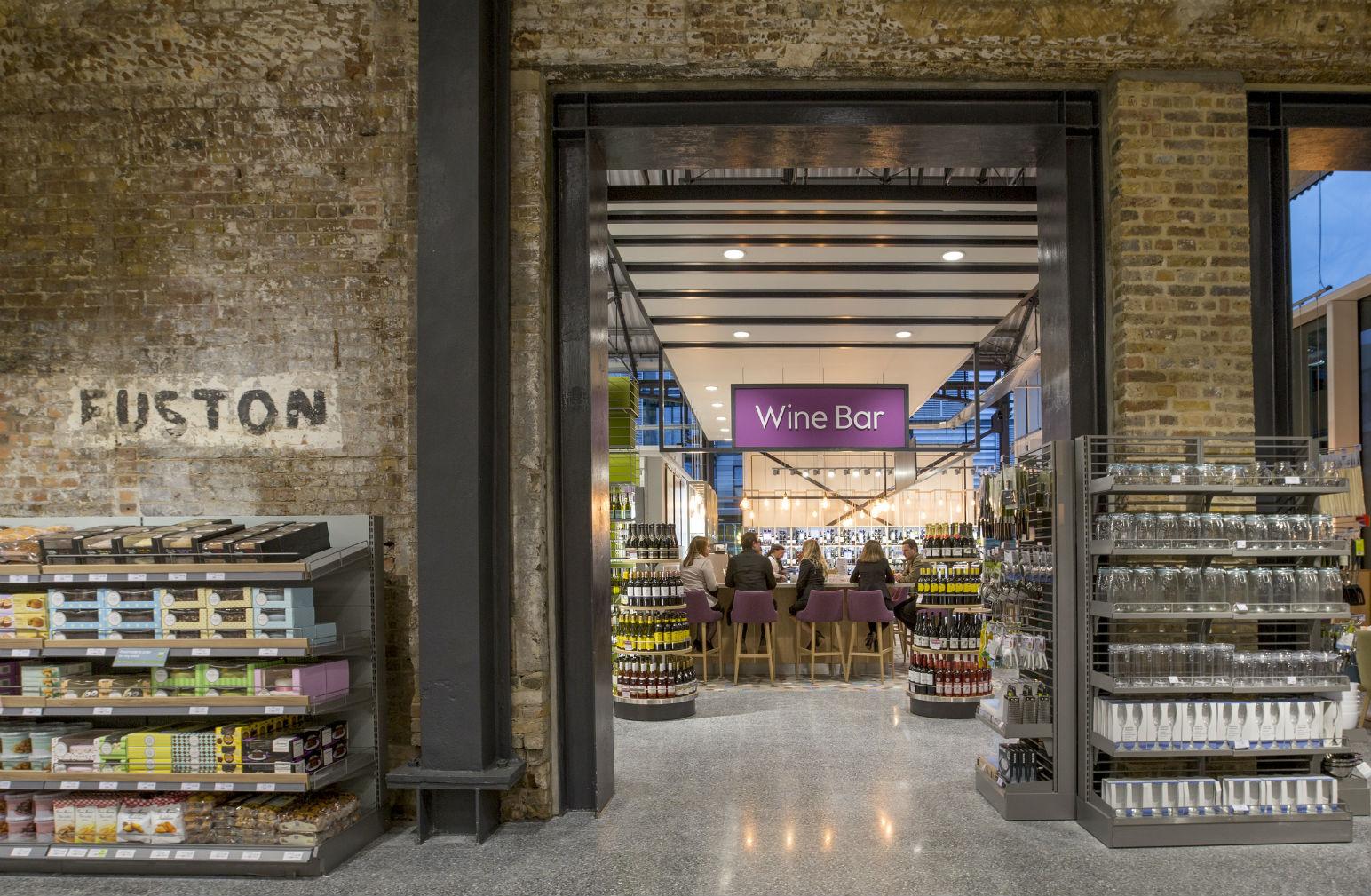 Omg Look At The Wine Bar And Growler Refill At Waitrose