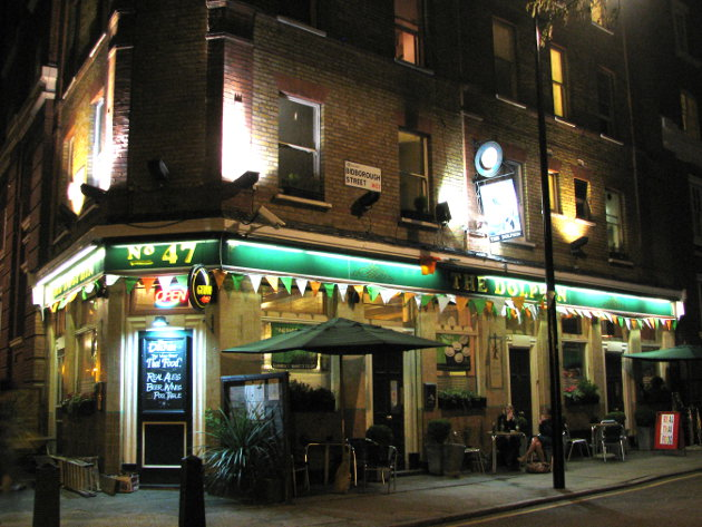 Much of the drinking takes place in the Dolphin, a longstanding boozer between Euston and King's Cross. Photo: kxldn.co.uk