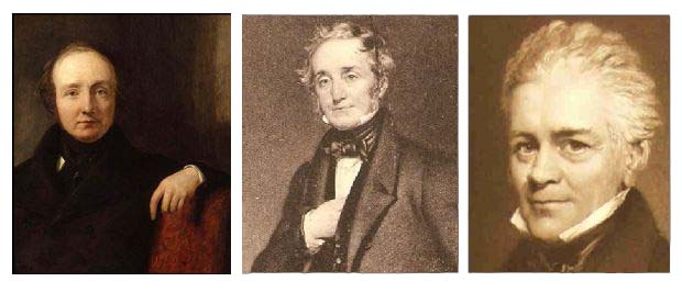 Lewis, Thomas and William, the three revolutionary Cubitt brothers. Photo: Blackcablondon.net