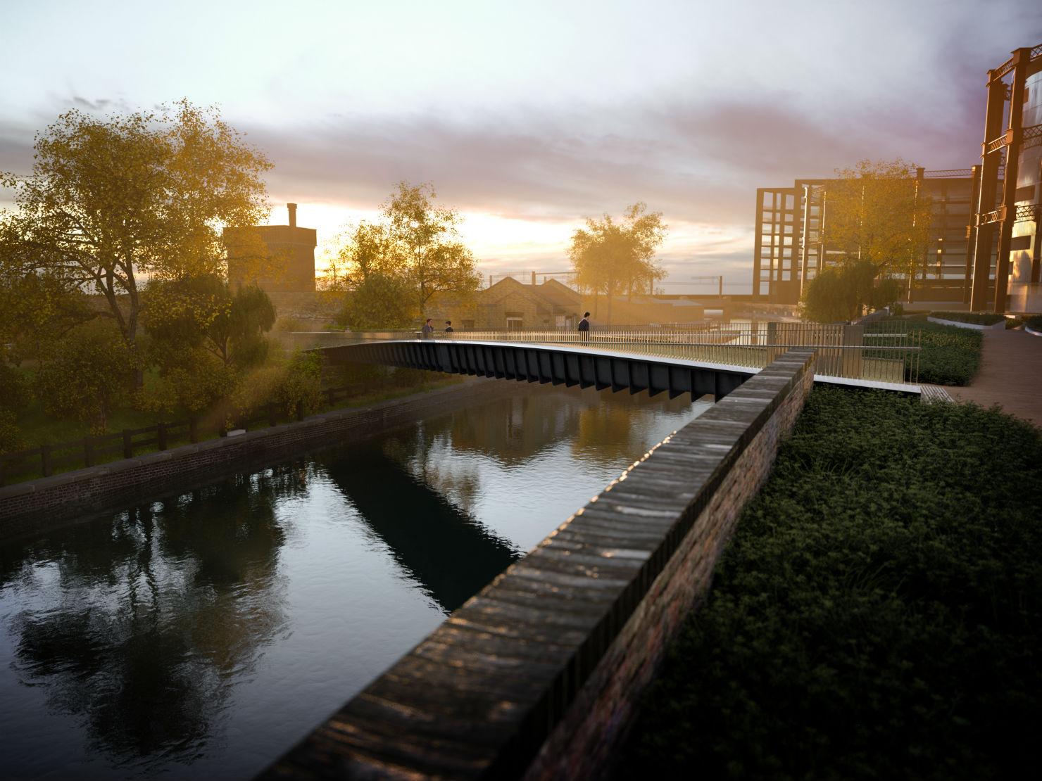 A new bridge for london but it 39 s not over the thames for Design bridge london