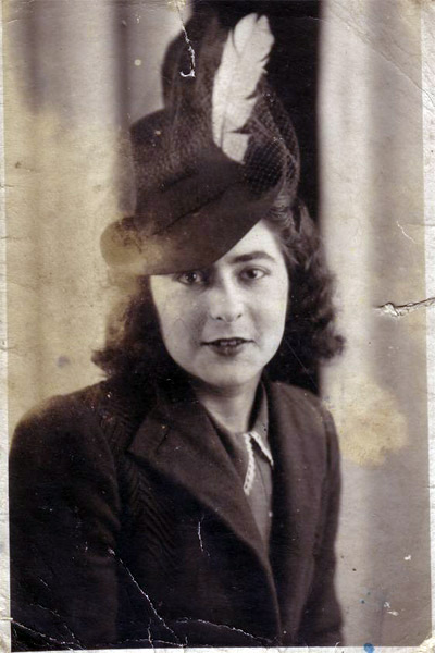 As she was: Daisy Louise Hunt, who has told her story to grandson Warren Carter. Photo owned by the family