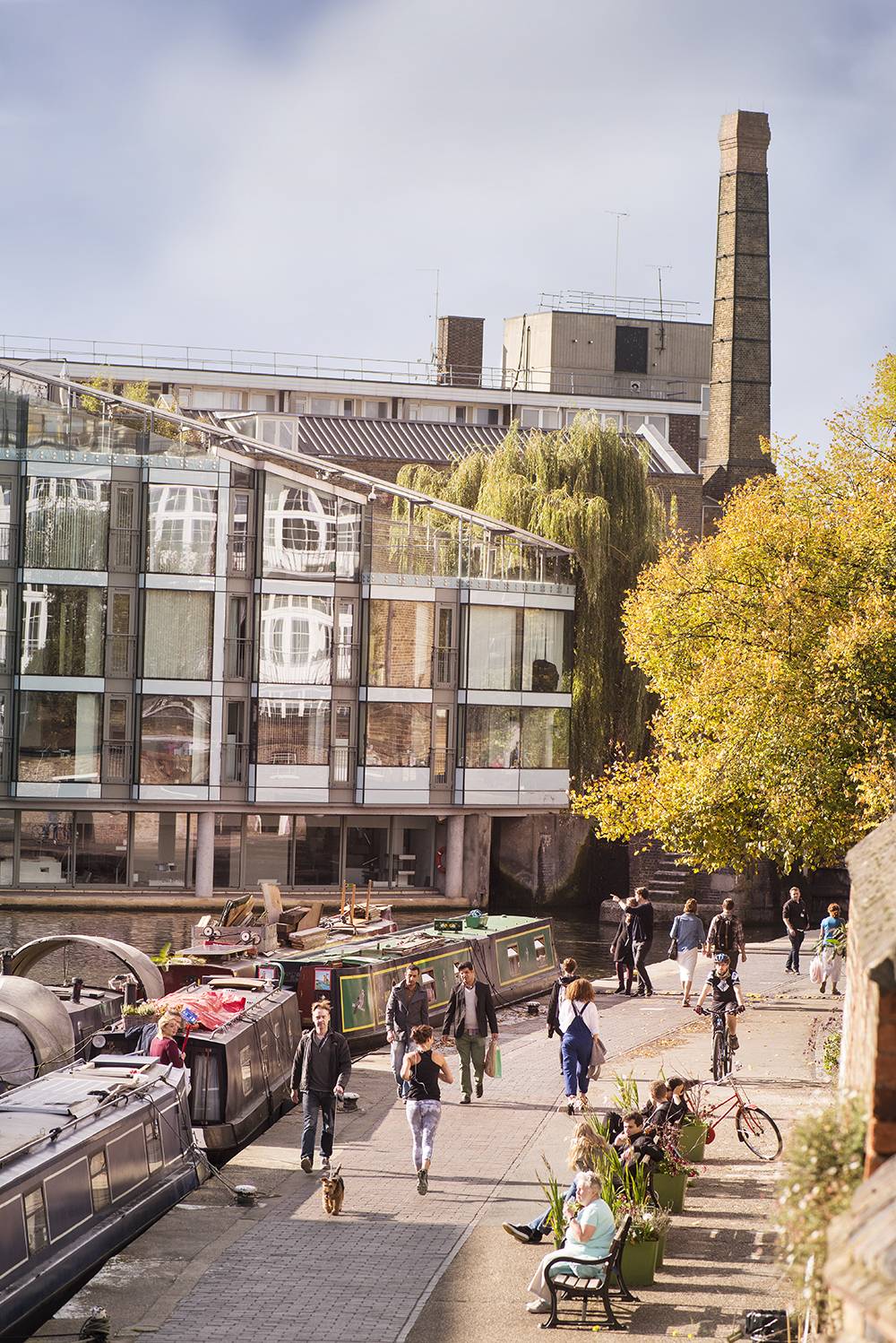 City Road Lock. Photo: Canal Rivers Trust