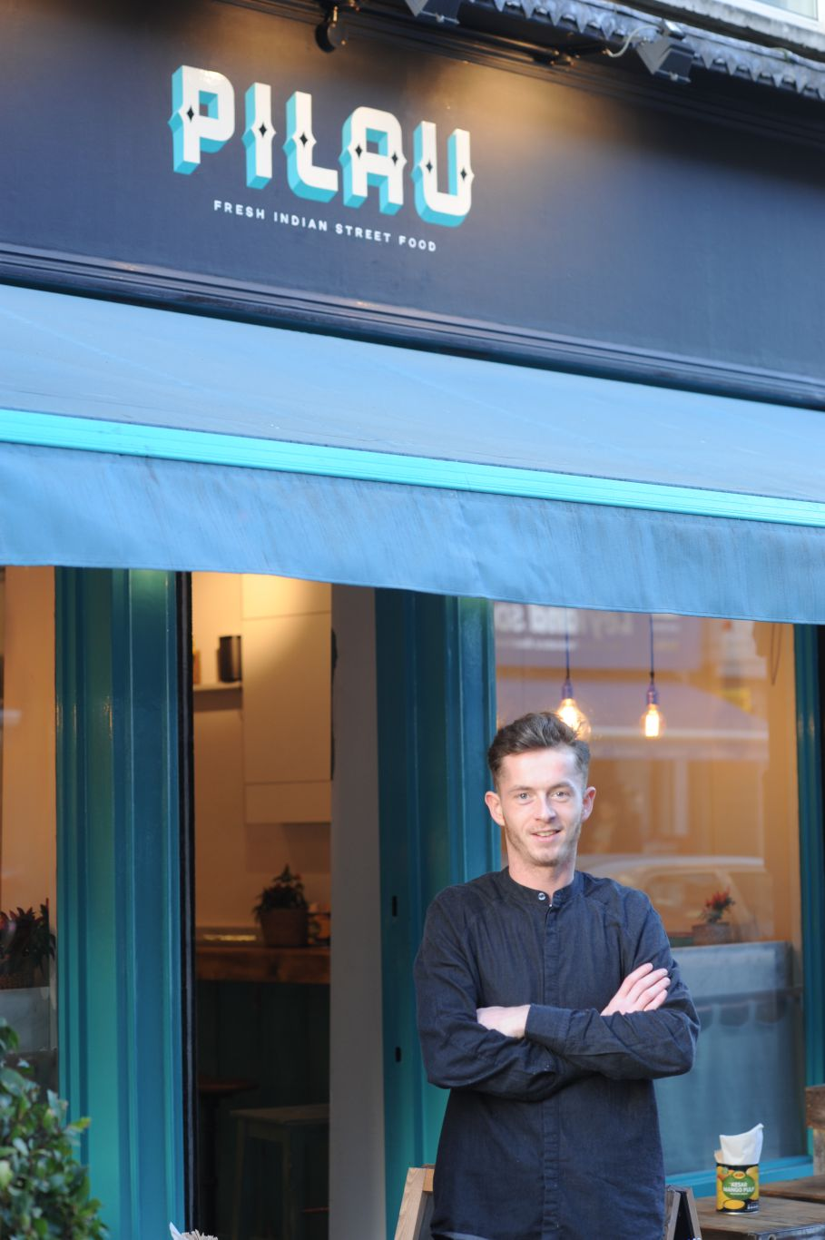23-year-old George Pitkeathley now owns two W1 restaurants. Photo: PR