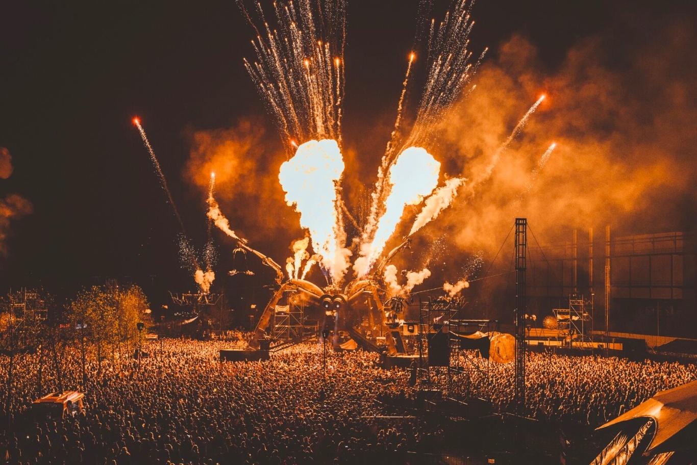 Fireworks at Arcadia