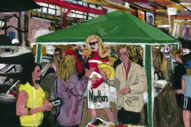 art work available at Art Car Boot