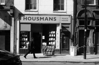 The exterior of Housmans bookshop