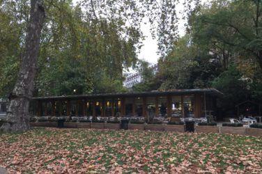 The exterior of Caffe Tropea